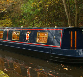 The Pride of York luxury narrowboat