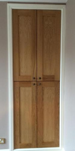 Oak wardrobe doors