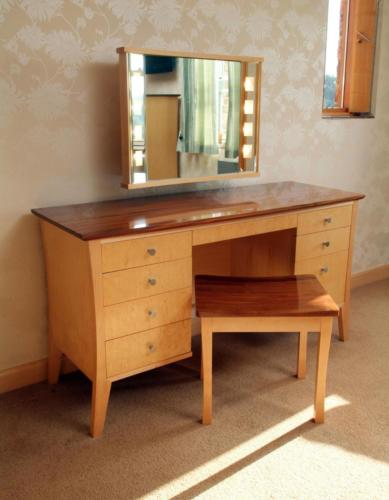 Maple and Black Walnut Dressing Table