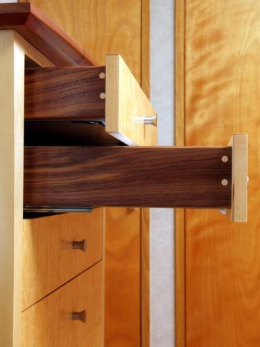Tallboy drawer detail